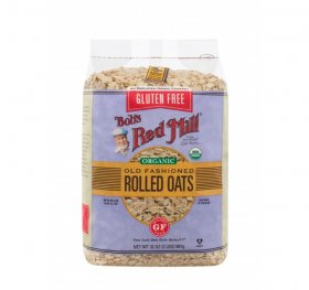 OLD FASHIONED ROLLED OATS - PURE WHEAT FREE & ORGANIC