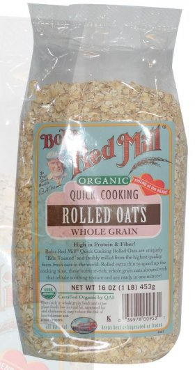ROLLED OATS - ORGANIC, QUICK COOKING