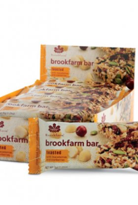 BROOKFARM BAR - TOASTED CRANBERRY & MACADAMIA