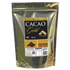 POWER SUPER FOODS CACAO GOLD BUTTER CHUNKS