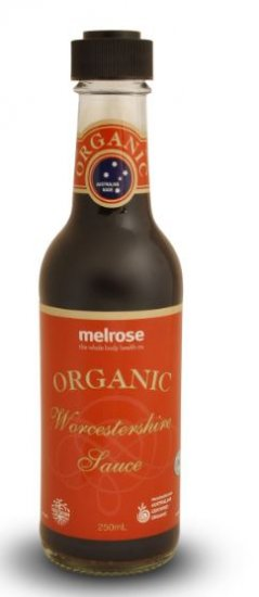 ORGANIC WORCESTERSHIRE SAUCE