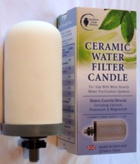 CERAMIC WATER FILTER CANDLE