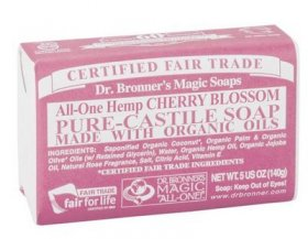 ALL-ONE HEMP CHERRY BLOSSOM PURE CASTILE SOAP