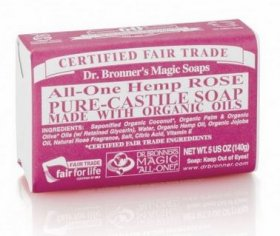 ALL-ONE HEMP ROSE PURE CASTILE SOAP