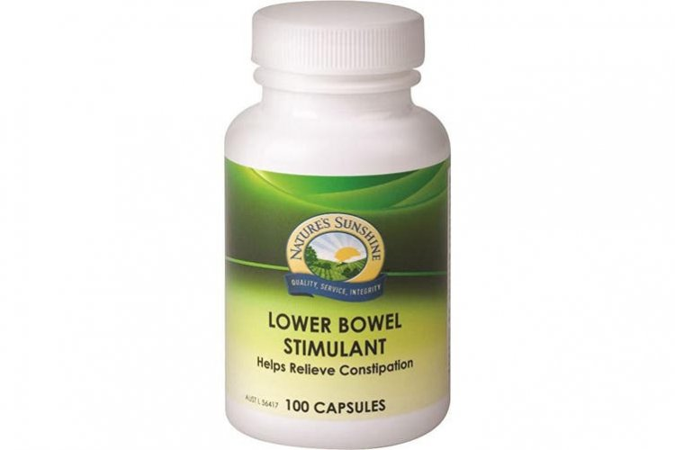 NATURE\'S SUNSHINE LOWER BOWEL STIMULANT