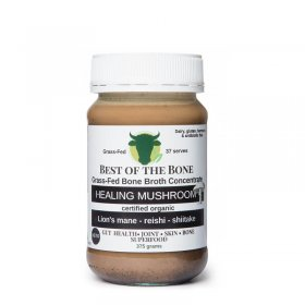 BEST OF BONE BROTH - ORGANIC HEALING MUSHROOM