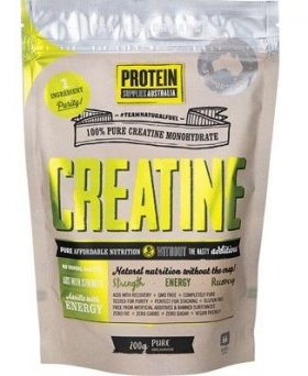 100% CREATINE MONOHYDRATE PURE By Protein Supplies Australia