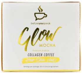 Before You Speak Glow Collagen Coffee 30 Sachets Mocha