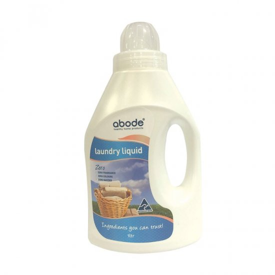 Abode Laundry Liquid (Front and Top Loader) Zero 1L
