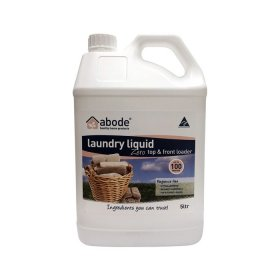 Abode Laundry Liquid (Front and Top Loader) Zero 5L