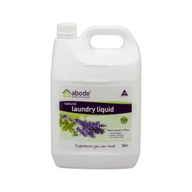 Abode Laundry Liquid (Front Top Loader) Lavender Mint 5L