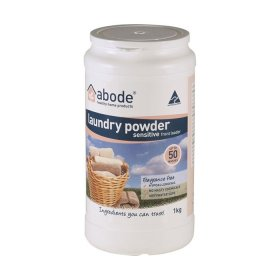 Abode Laundry Powder (Front and Top Loader) Zero 1kg