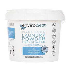 Enviroclean Laundry Powder and PreSoaker 2kg