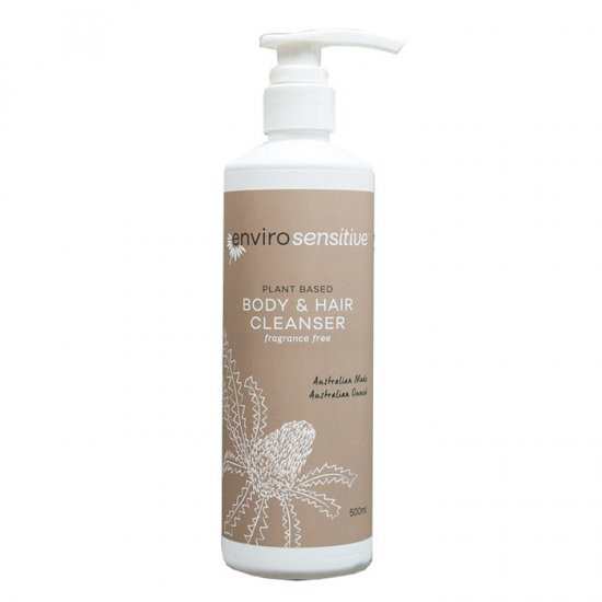 EnviroSensitive Body and Hair Cleanser Fragrance Free 500ml