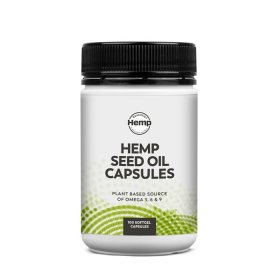 Essential Hemp Hemp Seed Oil Capsules 100c