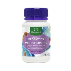LifeStream Advanced Probiotics Mood Plus Immune 30c