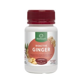 LifeStream Bioactive Ginger 60vc