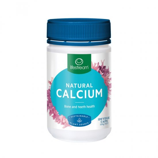LifeStream Natural Calcium (Sustainable Plant Source) 120vc