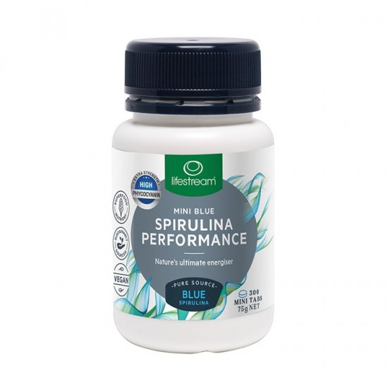 LifeStream Spirulina Performance Mini Blue Mini Tab 300t