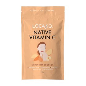 Locako Native Vitamin C Strawberry Coconut 100g