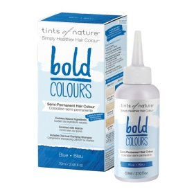 Tints of Nature Bold Colours (Hair Semi Perm) Blue 70ml