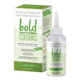 Tints of Nature Bold Colours (Hair Semi Perm) Green 70ml