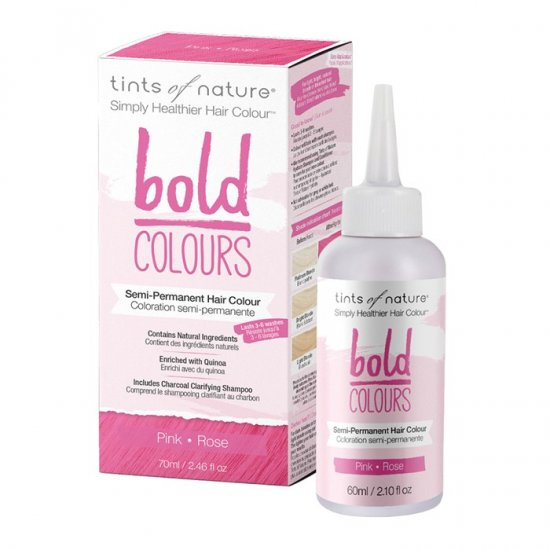 Tints of Nature Bold Colours (Hair Semi Perm) Pink 70ml