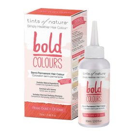 Tints of Nature Bold Colours (Hair Semi Perm) RoseGold 70ml