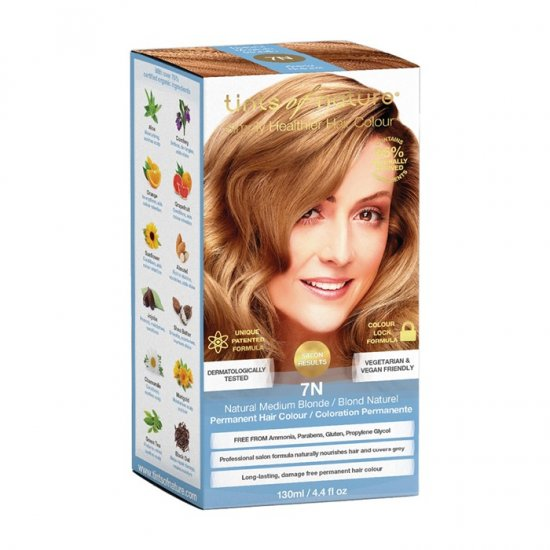 Tints of Nature Perm. Hair Colour Natural Medium Blonde 7N