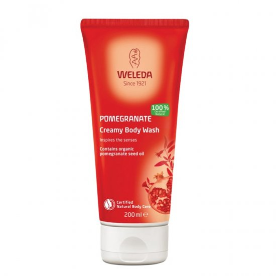 Weleda Body Wash Creamy Pomegranate 200ml