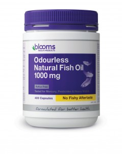 ODOURLESS NATURAL FISH OIL 1000