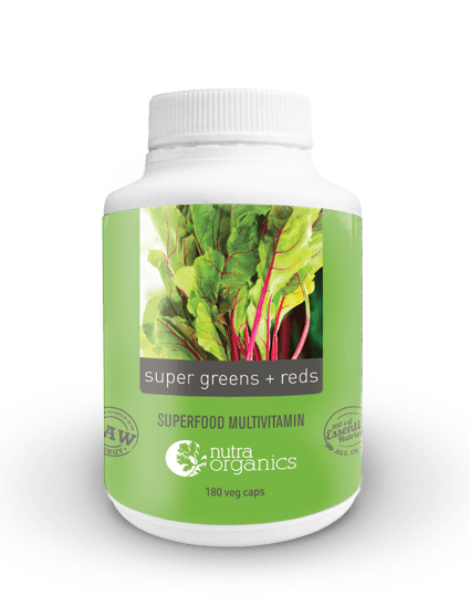 SUPER GREENS PLUS REDS CAPSULES