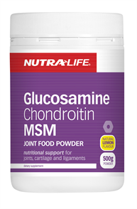 MSM GLUCOSAMINE AND CHONDROITIN - JOINT FOOD POWDER