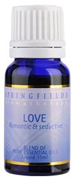LOVE ESSENTIAL OIL BLEND 11ML By Springfeilds