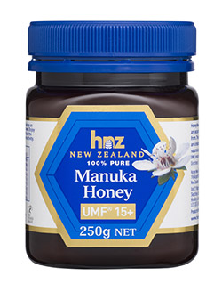 PURE MANUKA HONEY UMF 15+ BY HNZ