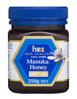 PURE MANUKA HONEY UMF 18+ BY HNZ