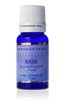 BASIL PURE ESSENTIAL OIL 11ML By Springfields