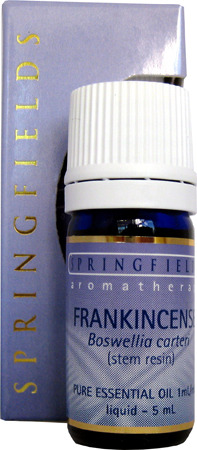 FRANKINSENCE ESSENTIAL OIL By Springfields