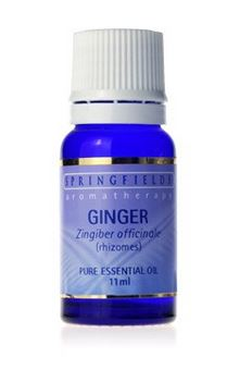 GINGER ESSENTIAL OIL By Springfields