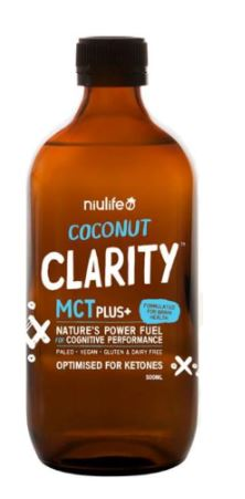 NIULIFE COCONUT CLARITY MCT PLUS