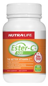 ESTER-C 500mg + Echinacea Chewable Tablets