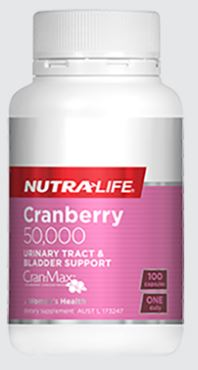 CRANBERRY 50,000 By NUTRA LIFE